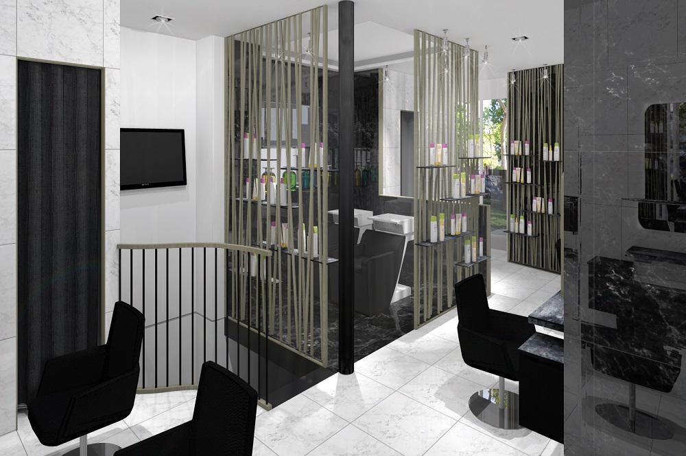 Aec r alisation conception et plan 3d for Outil de conception salon